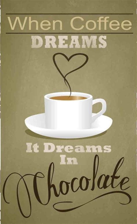 chocolate  coffee quotes quotesgram