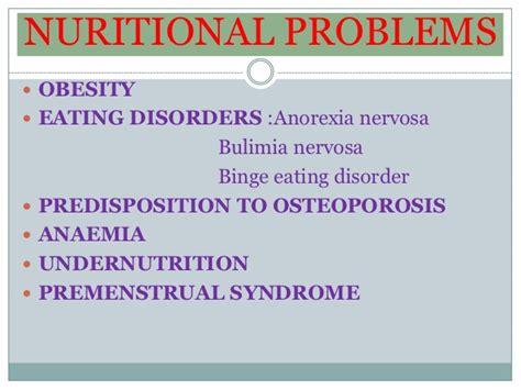 nutrition  adolescence