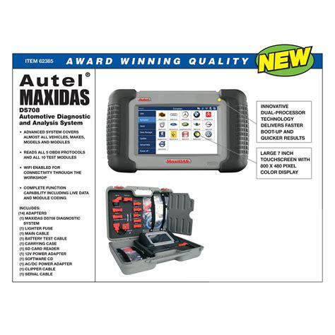 Diagnostic System by Autel 174 Maxidas 174 Automotive Diagnostic And Analysis System