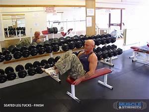 seated leg tucks exercise guide tips
