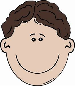 Boy Face Cartoon clip art Free vector in Open office ...