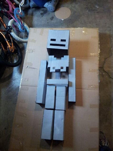 yr  step son wanted    minecraft skeleton  halloween   crafted