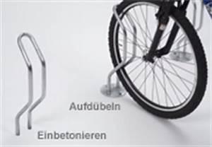 Einschlaghülsen Einbetonieren Oder Nicht : fahrradst nder zum einbetonieren f r den aussenbereich ~ Frokenaadalensverden.com Haus und Dekorationen