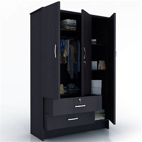 Cloth Cupboard Price by Steel Cupboard 3 Doors Wooden Wardrobe Manufacturer From