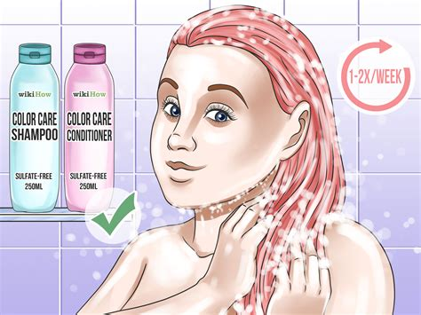 How To Dye Hair Peach (with Pictures)