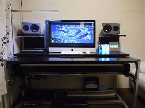 recording studio computer desk show me your homemade or custom made console or studio