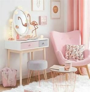 Rideau Gris Et Rose : 1001 conseils et id es pour une chambre en rose et gris sublime ~ Teatrodelosmanantiales.com Idées de Décoration