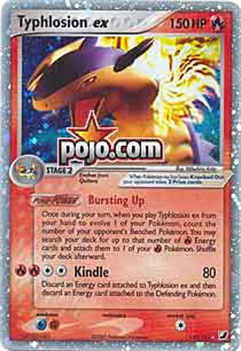 Typhlosion Deck List Breakthrough by Pojo S Site Nintendo Gameboy Strategies Cards