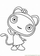 Waybuloo Coloring Pages Coloringpages101 Info Dinokids sketch template