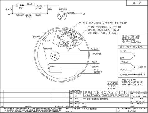 wiring diagram awesome marathon electric motor wiring