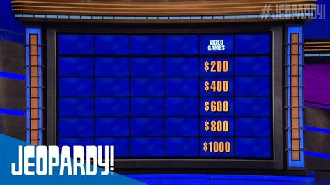 video games jeopardy youtube