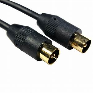 2m Gold Aerial Cable Extension  Plug To Female