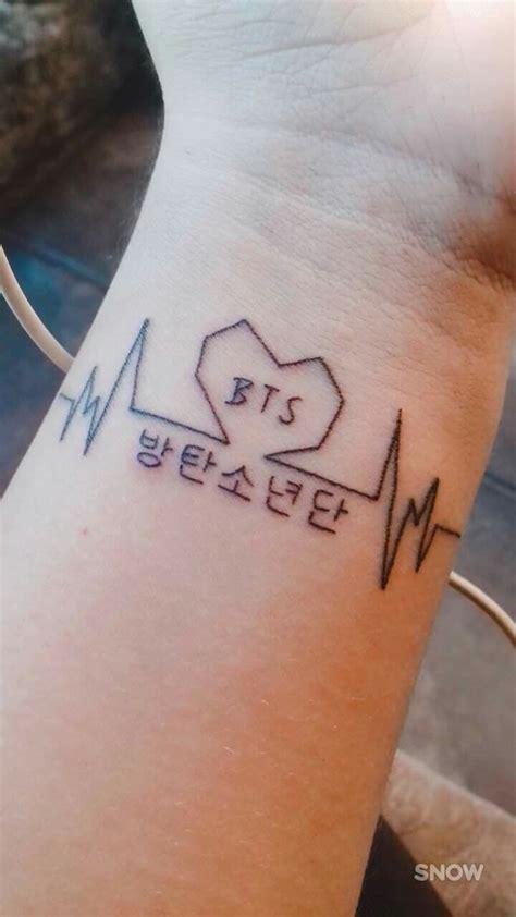 tatto bts tatuagens coreanas tatuagem tatuagens