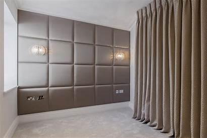 Panels Upholstered Padded London Wall Bedroom Modern