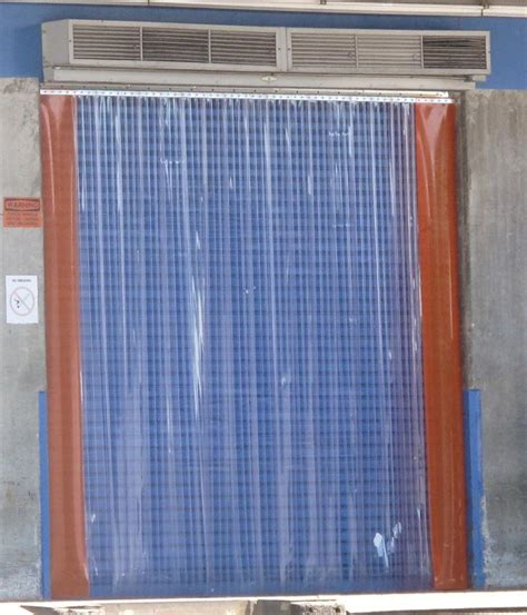 curtains for dock doors orange pvc curtain