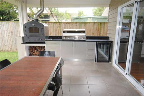 outdoor kitchen cabinets brisbane outdoor kitchen redcliffe modern exterior brisbane 3833