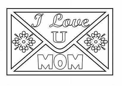 Coloring Mom Pages Colouring