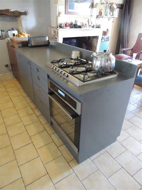 ilot cuisine sur mesure fabrication meuble stratifié cuisine sur mesure