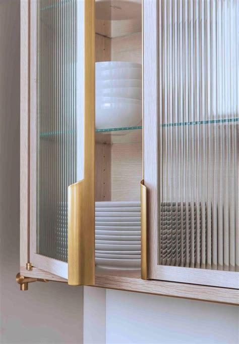 reeded glass door insert fantastic handles glass