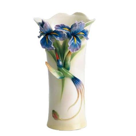 franz porcelain vase franz porcelain vase hummingbird vase fz01203