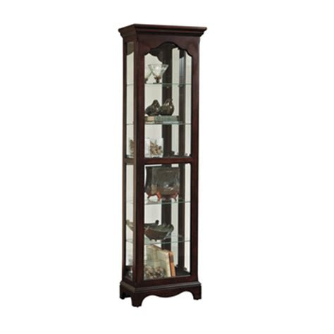 pulaski corner curio cabinet 20206 curio cabinet clearance by pulaski home gallery stores