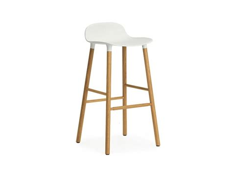 Norman Bar Stools by Form Bar Stool 75cm Normann Copenhagen Seating Hgfs