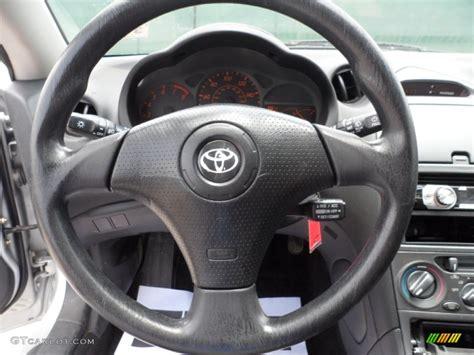 Toyota Steering Wheel by 2003 Toyota Celica Gt Black Silver Steering Wheel Photo