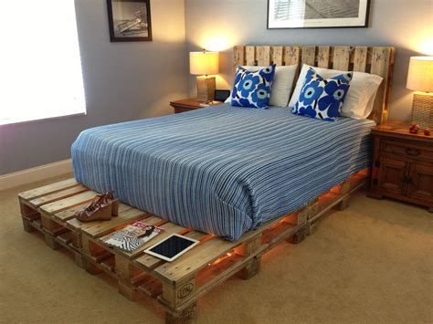 cool pallet bed steal pinterest