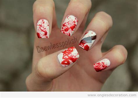 sang d 233 coration d ongles nail