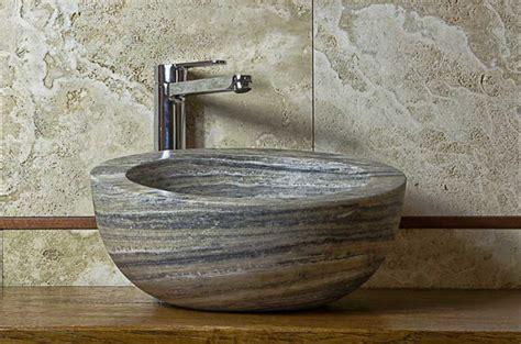 Lavandini Da Bagno Particolari Lavabi Da Appoggio by Bellissimi Lavandini In Pietra Dal Beige Al Grigio