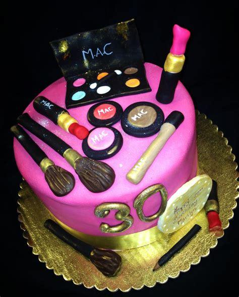 baking  roxanas cakes mac makeup themed cake