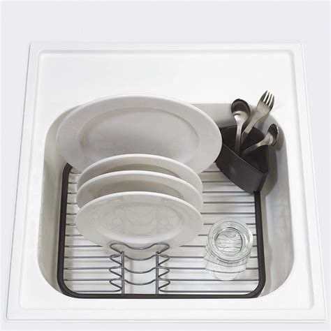 in sink dish rack wire dish drip rack sink grid utensil drainer movable