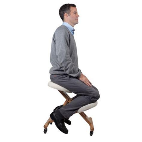 siege assis genoux siège mal de dos assis debout stabido