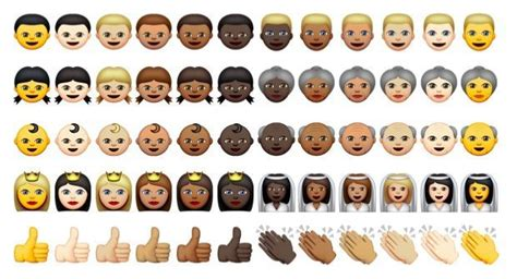 updated iphone emojis 300 new diverse emojis coming with apple update