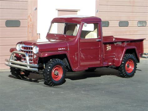 jeep willys custom 1953 willys jeep custom pickup 161641