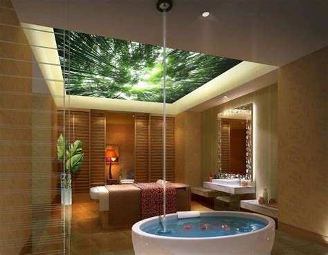 Spa Lighting For Bathroom by 50 Impressive Bathroom Ceiling Design Ideas Master