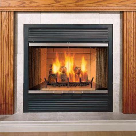 majestic  sovereign wood burning fireplace chimney