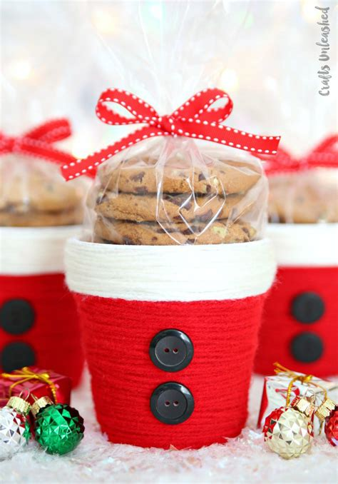 diy christmas treat holder santa cup consumer crafts