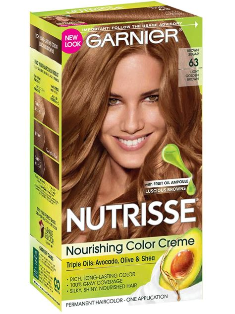 brown hair color nutrisse color creme nourishing