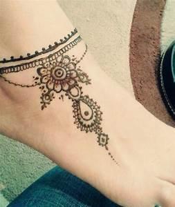 Best 25+ Ankle henna tattoo ideas on Pinterest | Henna ink ...