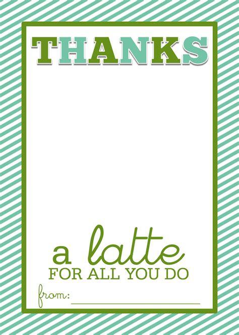 easy teacher gift craft   latte starbucks gift