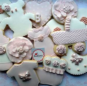 Baby Girl Shower Cookies Cookie Connection