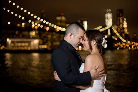 wedding photographers nyc bridge park wedding photography bridge