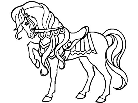 Coloring Horses Pages by Coloring Pages Preschool And Kindergarten