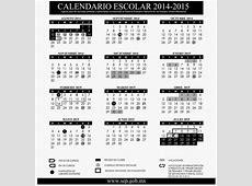 Calendario escolar 20142015 de la SEP