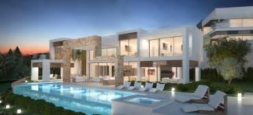 modern colonial house plans modern villas marbella villas for sale in marbella