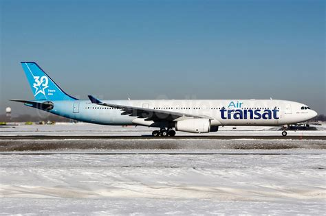 air transat unveiles the of its 30th anniversary aircraft air cargo links air cargo