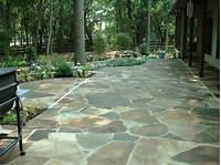 good looking paver stone patio design ideas Laying a Flagstone Patio Tips | How To Build A House