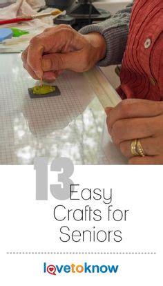 senior crafts ideas  pinterest crafts