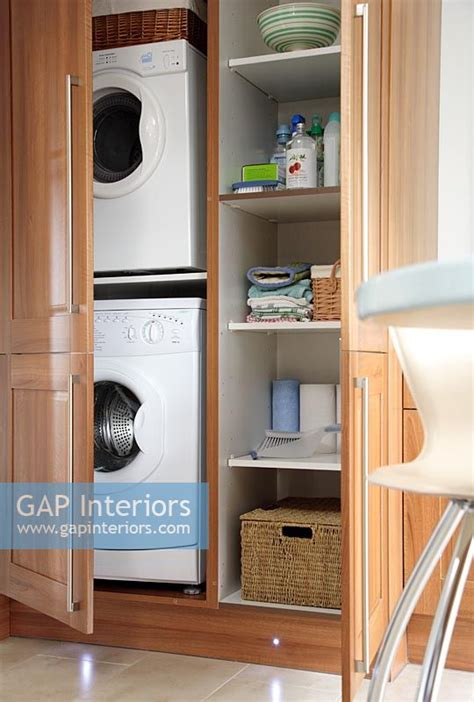Tumble Dryer In Cupboard by Gap Interiors Concealed Washing Machine And Tumble Dryer
